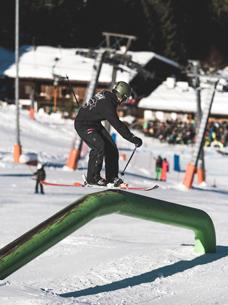Freestyle Ski am Götzschen