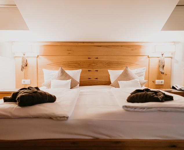 Doppelbett Suite