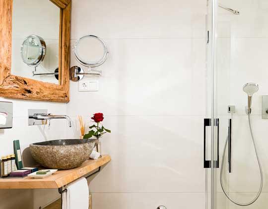 Lichtnelke Badezimmer