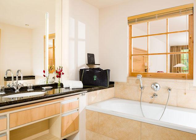 Gästehaus Badezimmer